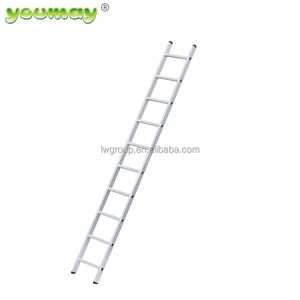 EN131 Aluminum single side ladder AS0111A attic telescopic used ladders for sale outdoor stair steps lowes