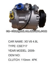 car A/C Compressor For BMW car X5 V8 4.8L