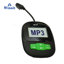 2017 newest cheap IPX8 waterproof MP3 player with FM radio function
