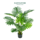 Chrub ornament 1.1m chinese artificial plant for home decoration, Philodendron plant Tree bonsai