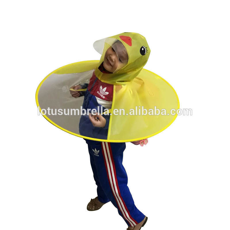 yellow duck kids ufo umbrella hat for sale