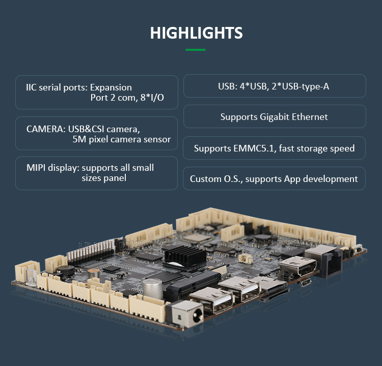 2GB DDR3 RAM A64 Quad core ARM Motherboard Android 6.0