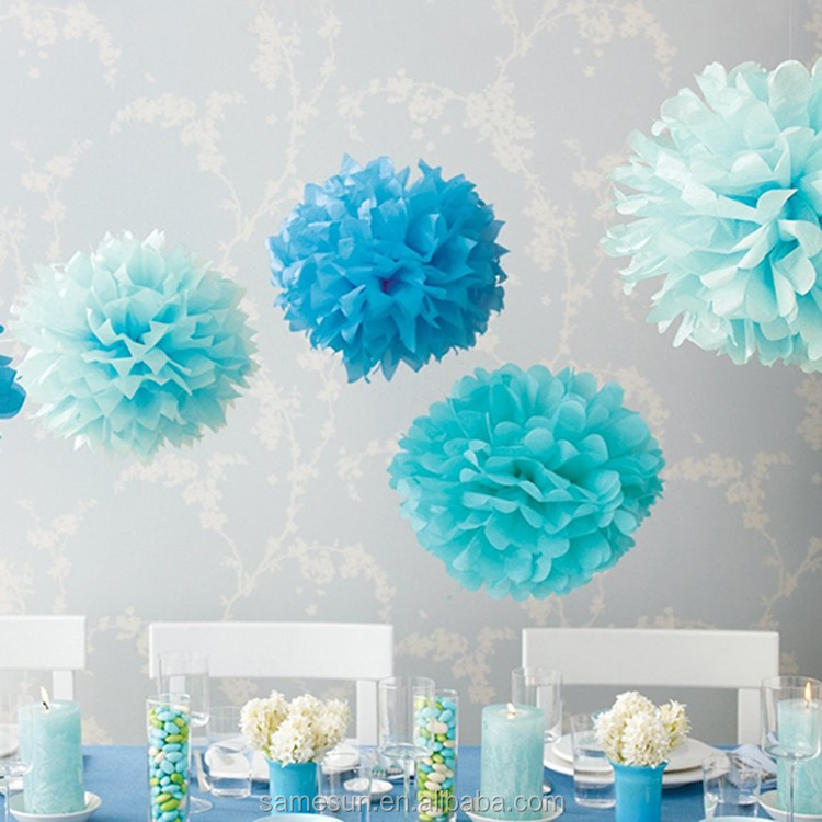 New design artificial paper flower ball for wedding decoration view colorful tissue14g mightylinksfo