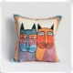 Wholesale High Quality Custom Designs 100% Cotton Embroidered Pillow Cover Cushion