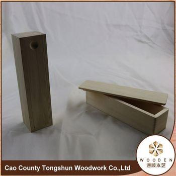 MDF Wooden Bow Tie Storage Box