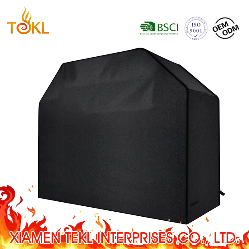 2018 Groothandel Custom Decorantive Cover Ronde Grill Fire Pit Smoker BBQ Waterdichte Cover voor Gas Grill en Charcoal Grill
