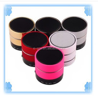 Super bass effect S09 wireless bluetooth speaker with Led light/handsfree/remote control