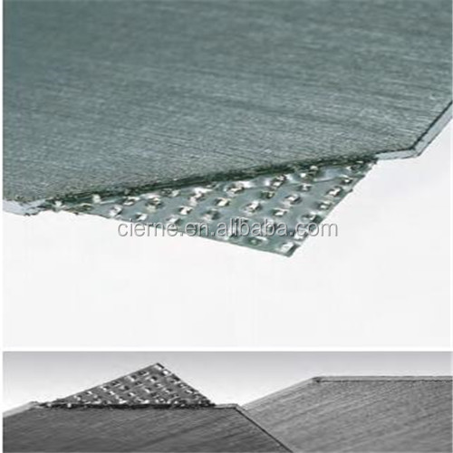 Good compressibility resilience pure expanded high temperature graphite GASKET sheet reinforced KLINGRITE