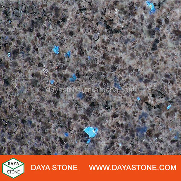 Luxurious Mahogany Blue Eyes Granite Tile
