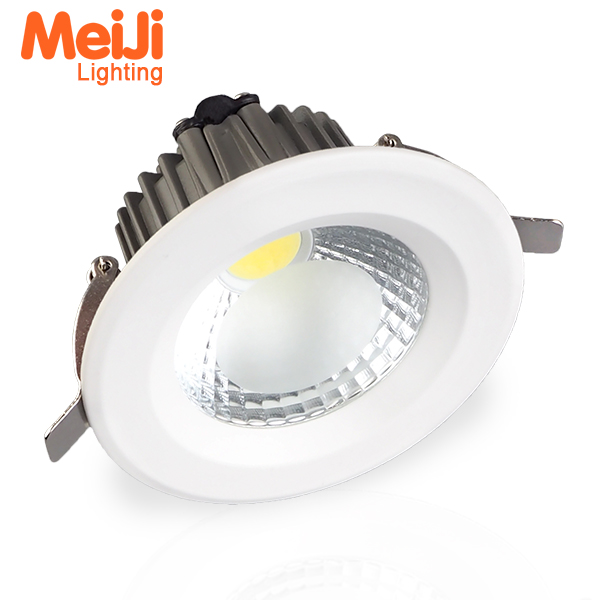 3years warranty 8 inch 10W ip44 recessed high quality cob led downlight