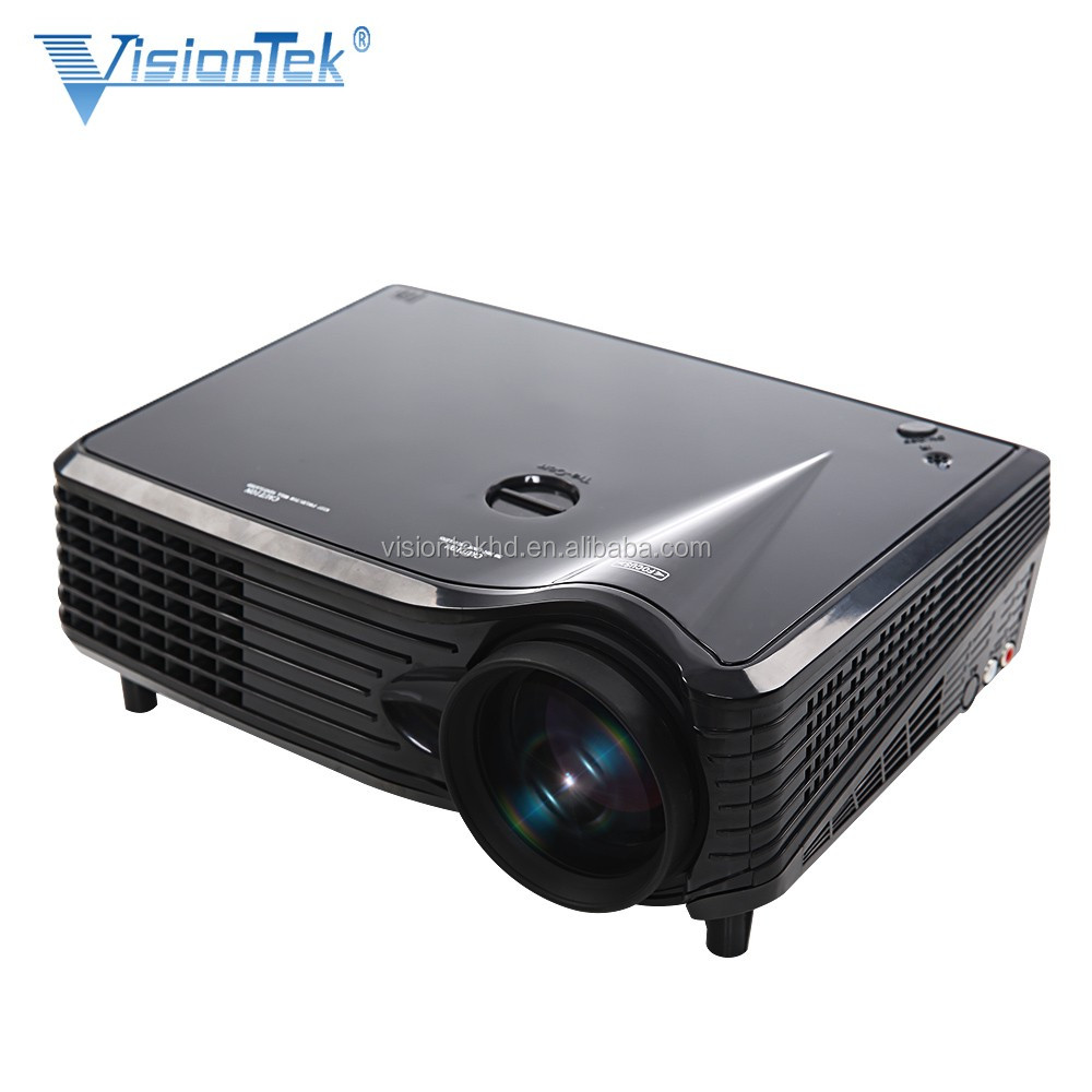 2017 beam projector with USB cable for mobiles , small lcd projector with led lamp & high 2000lumens brightness support