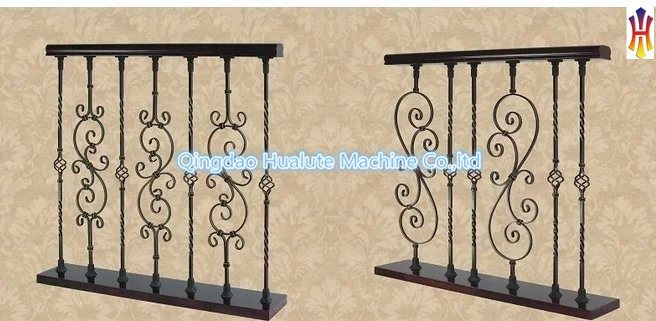 ornamental stair railing pickets wrought iron fence pickets