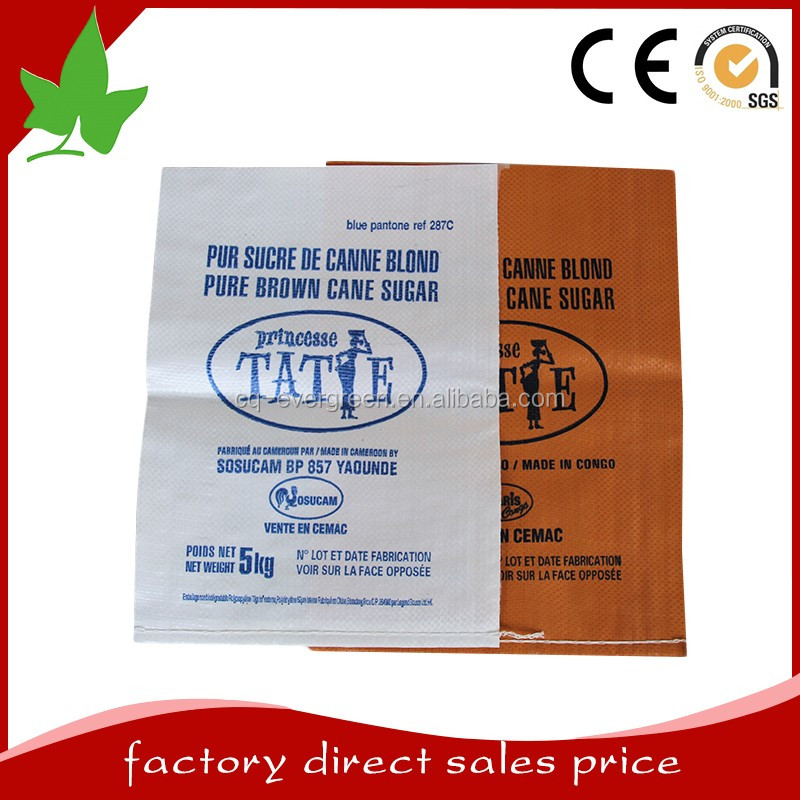 Global Selling China White Pp Sugar Bag 50kg For Sugar Pack