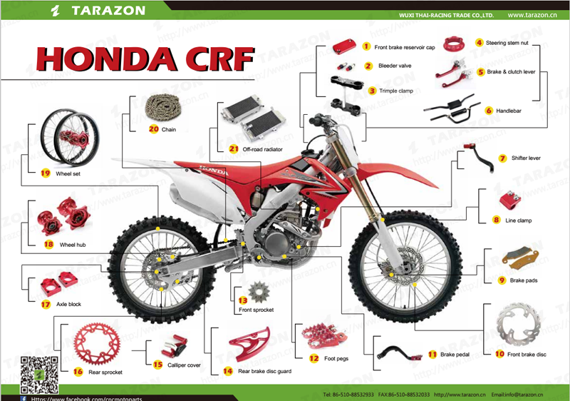 Wholesale Cnc Motorcycle Parts For Dirt Bike Ktm Honda ...