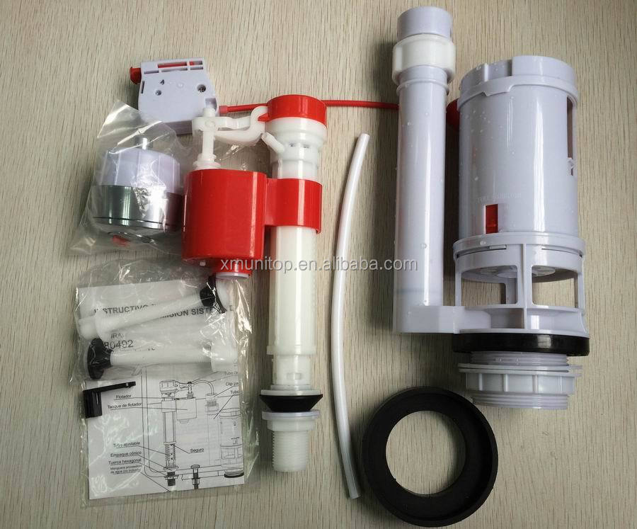 Wire Cable Control Toilet Flush Valve Dual