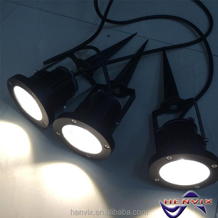 220 Volt Multi-color Garden Lamp Post Lights