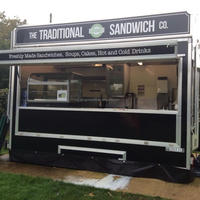 2018 Best selling For Sale Mobile Restaurant food vendor trailers for sale