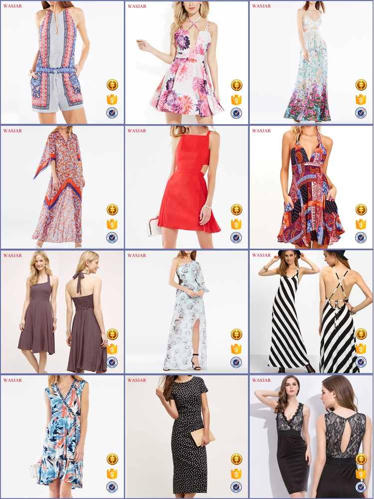 2016 European Summer New Fashion Latest Mature Fashion Color ...