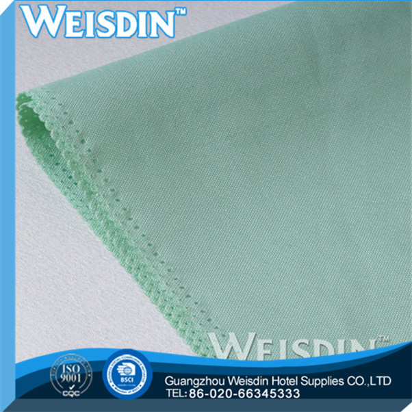plain dyed new style polyester/cotton white cotton napkins handkerchief