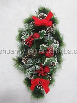 Wholesale Beautiful Colourful Pine Needle Christmas Garland Buy Popular Christmas Garland Artificial Evergreen Christmas Garland Cheap Bulk