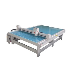 Flatbed CAD Cutting Table machine with plotter