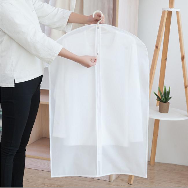 布ガーメントバッグ卸売プラスチックカバー用ドレスドレスガーメントバッグ