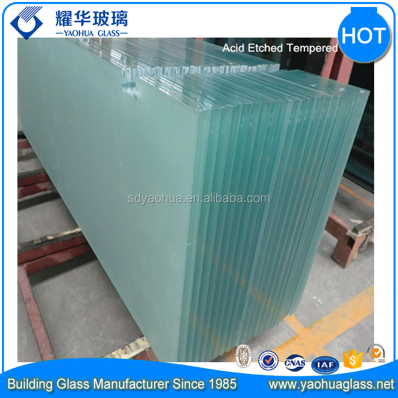 HOT SALE BEST PRICE CUT TO SIZE Heat soaked Tempered Building Glass Door