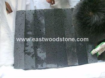 Piastrelle In Pietra Lavica Prezzi : Basalto andesite pietra lavica prezzo grigio piastrelle andesite