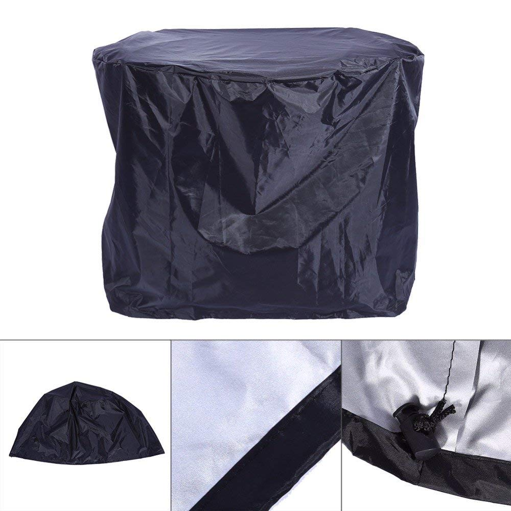 ERTIANANG Outdoor Round BBQ Waterproof Grill Cover Barbecue Covers Dust Rain Protector Hot 58x76cm BBQ Gas Grill Cover Gadgets Wholesale