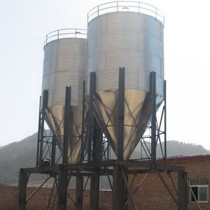 Wholesale 3ton capacities maize storage grain steel silos for corn grain