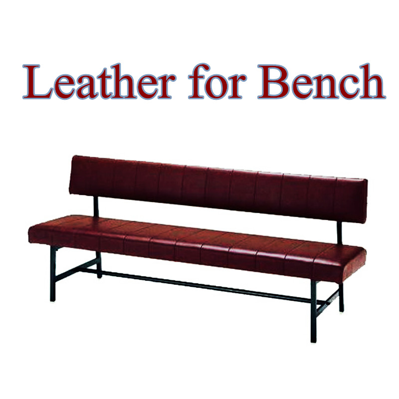 Ultimate Quality Customized Leather Bench for Coffee Shop Restaurant Comfortable Leather Material for Couch in Garden Park