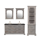 European french style vintage furniture set antique house hotel bathroom vanity cabinet set