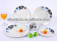 20pcs dinner set with decal