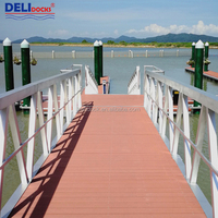 Durable marine ship aluminium floating dock