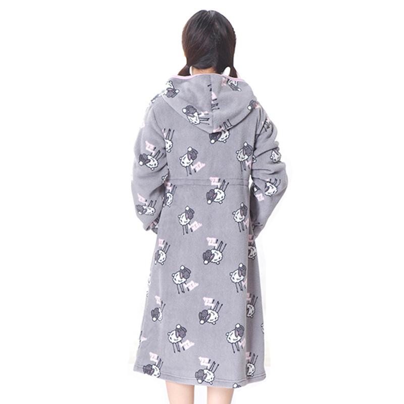 6896ee2eb Micro Fleece Pajamas With Zipper Women s Pajama Sleepwear - Buy ...