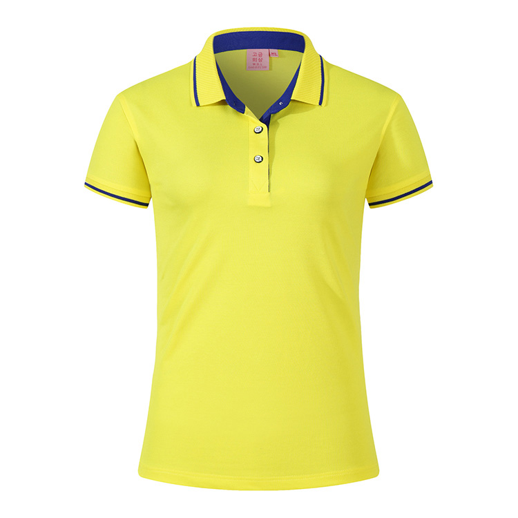 New design fashion woman polo shirt custom high quality golf polo shirts for wholesale china,office shirt women