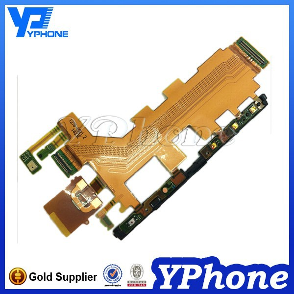 High Quality Flex Cable For Sony Z3 Main Flex Cable,Power On/off Flex Cable For Sony Z3