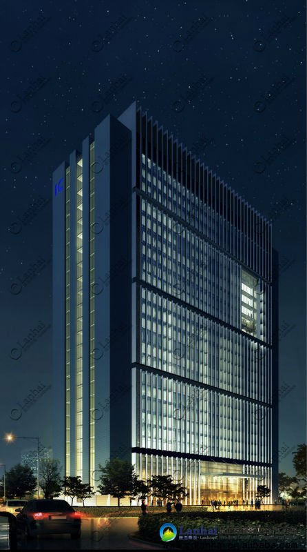 Modern Office Building Architecture Design