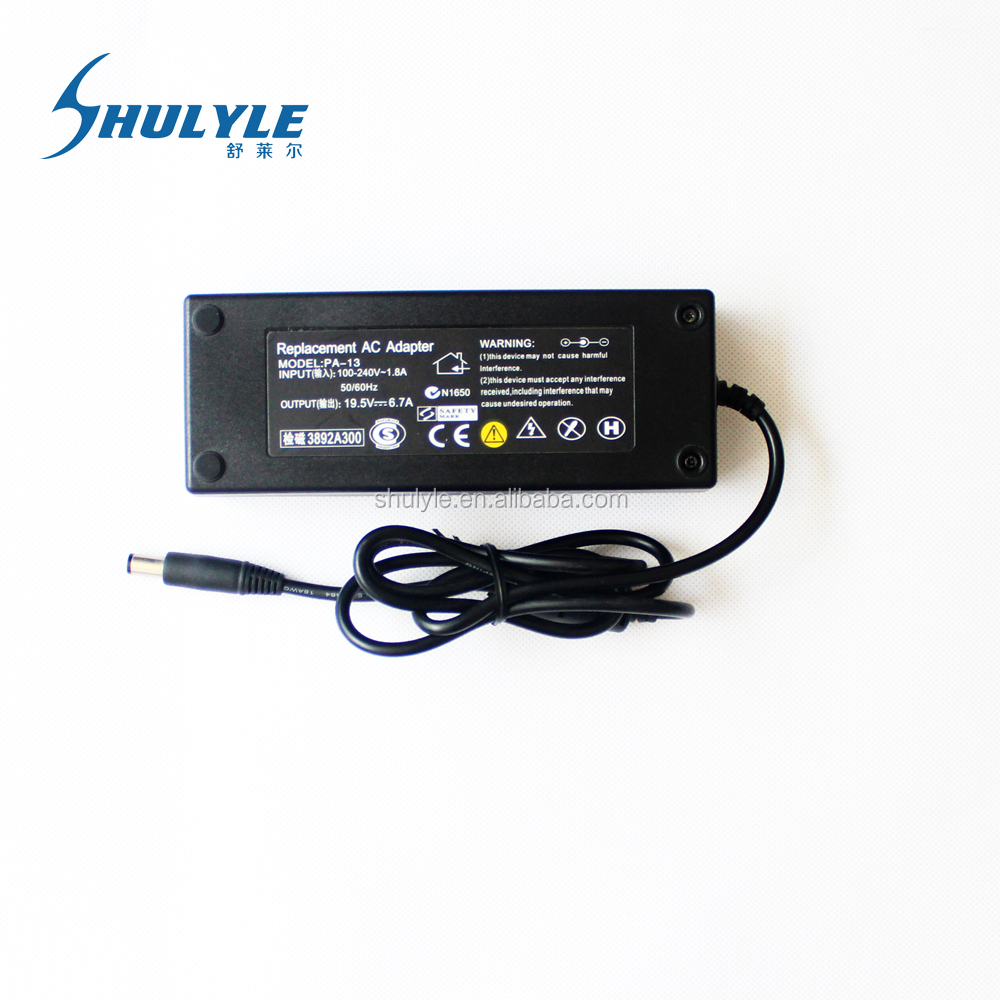 Manufacturer Supply Power 130W 19.5V 6.7A Laptop AC Adapter For Dell Laptop PA-13