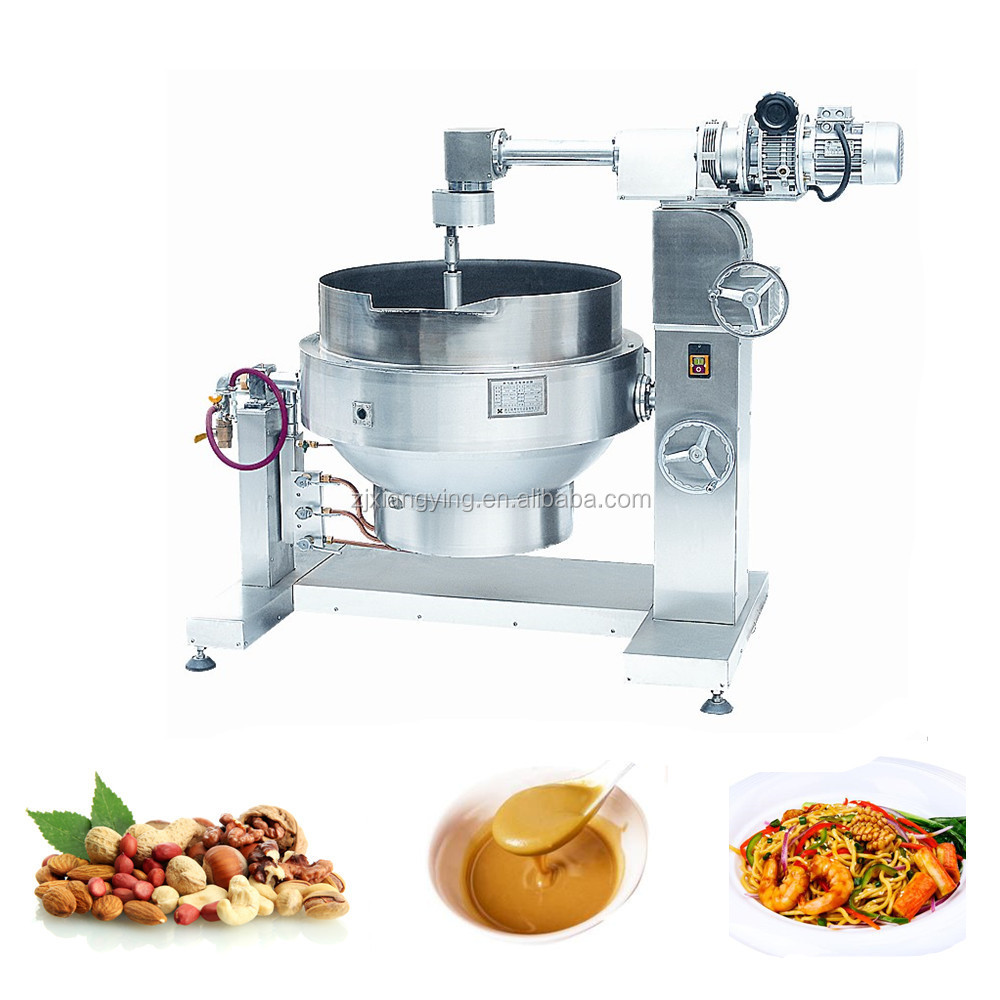 Xyzdcg-200 Kitchen Equipment Gas Type Nut/sauce Cooking Pot - Buy ...