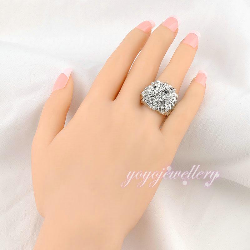 Dragon shape artificial jewellery Lucky stone dubai gold ring ...