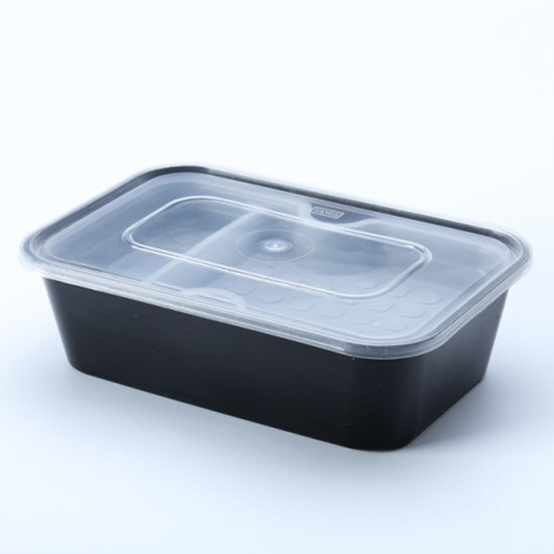 750ml food grade PP <strong>plastic</strong> take out lunch container box