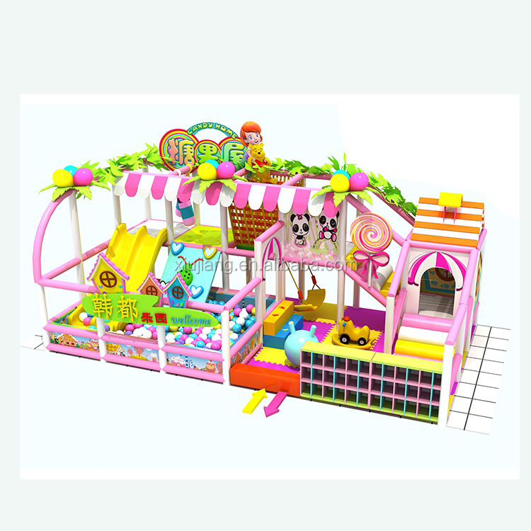 Attractive design soft toys indoor playground baby play park