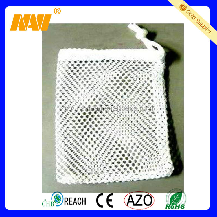 Eco friendly high quality small mesh gift bags