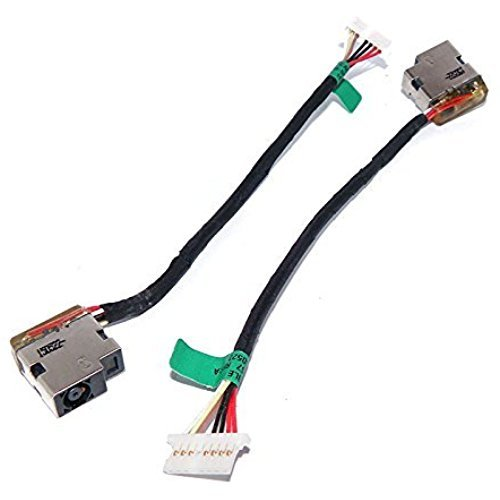 wangpeng Generic New AC DC Jack Power with Cable Harness for HP 15-AC 15-AC055NR 15-AC061NR 15-AC063NR 15-AC113CL 15-AC121DX M6-P M6-P113DX 799736-S57 799736-T57 F57