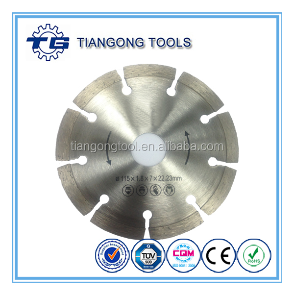 TG Vacuum Brazed Diamond Cutting Saw Blade
