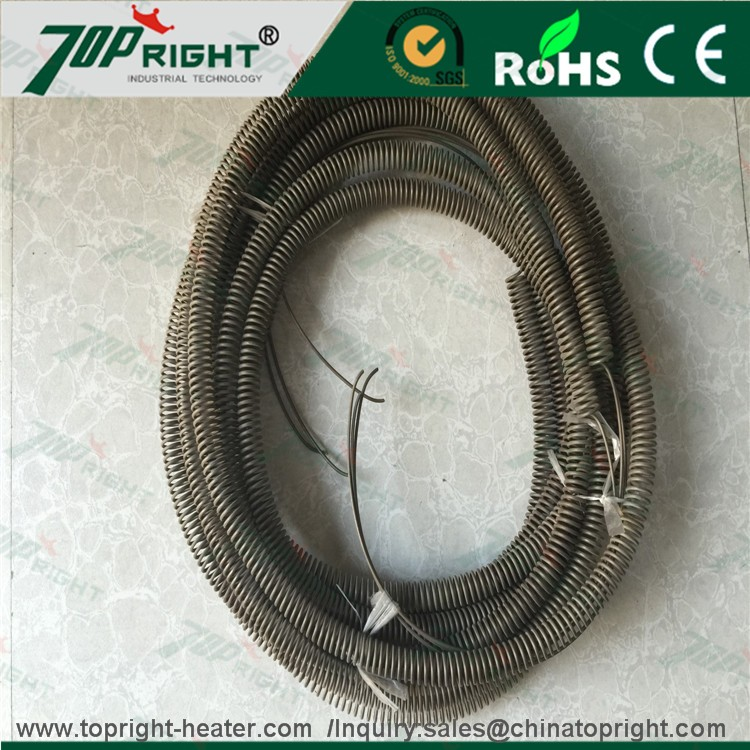 0Cr21Al6 FeCrAl electric alloy heating element resistant spring wire