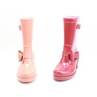 PVC Girl Rain Boots Gumboots, Unique Women Rain Boots Shoes