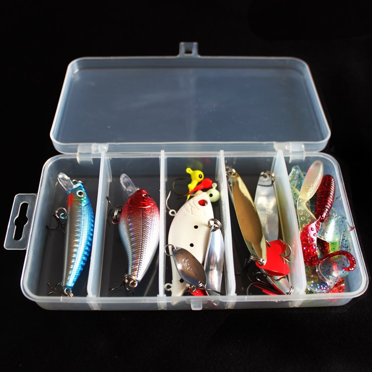 2017 High cost performance and reasonable collocation <strong>fishing</strong> lure set bait kit