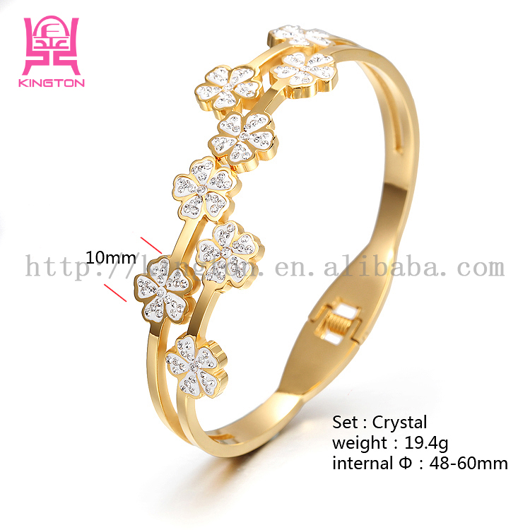 gold plated bracelet bangle jewelry design models for girls, View ...